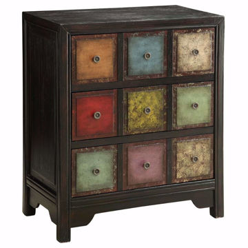 Picture of Colorful 3 Drawer Chest