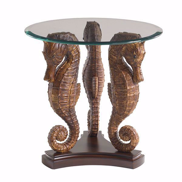 Picture of SEA HORSE LAMP TABLE