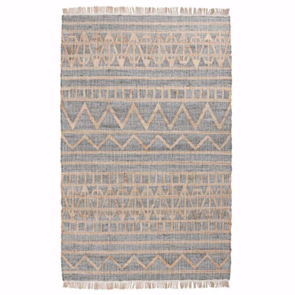 Picture of Kingston Distressed Spa Blue Rug