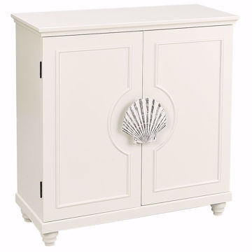 Picture of Martinique White Accent Cabinet