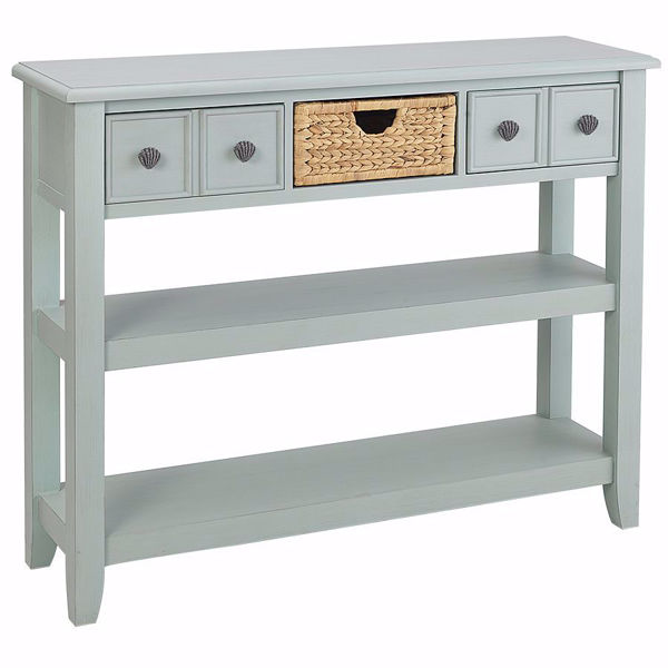 Picture of Islamorada Glacier Blue Entry Table