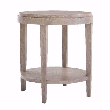 Picture of Ventura Chalk Round End Table
