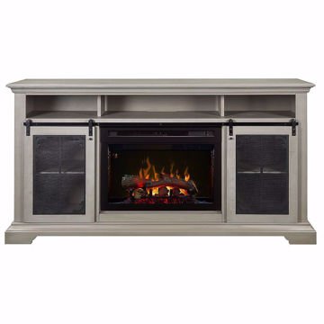 Picture of Olivia Media Console Fireplace