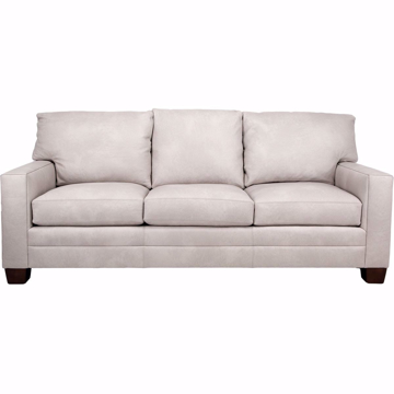 Picture of Brayden Customizable Leather Sofa