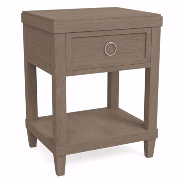 Picture of Ventura Chalk Slate Bedside Table