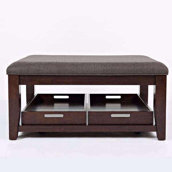 Picture of Twin Cities Ottoman Cocktail Table