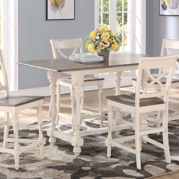 Picture of Devonshire Grey 5 Piece Tall Dining Set