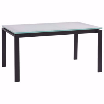Picture of Clayton Glass Top Dining Table