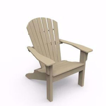 Picture of Adirondack Natural Shellback Chair