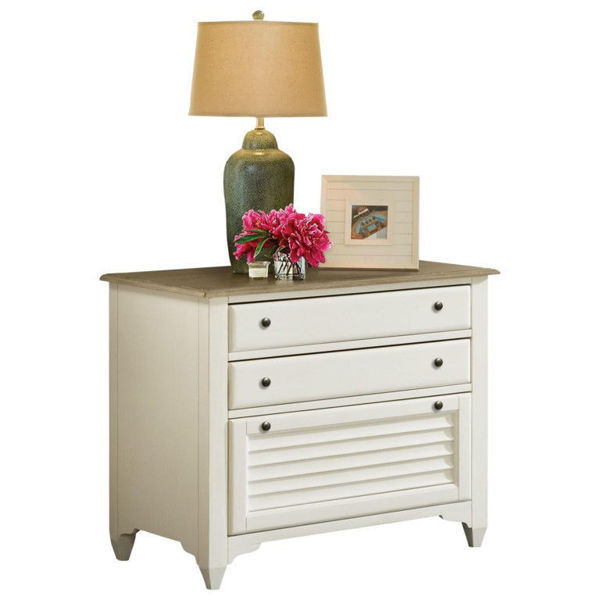 Picture of Myra White Lateral File Cabinet