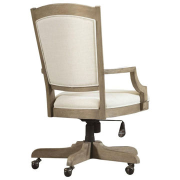 Picture of Myra Natural Upholstered Desk Chair