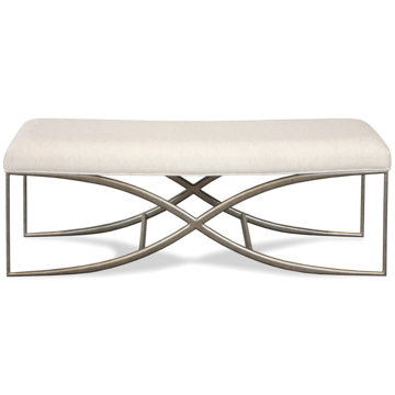 "Picture of Sophie 48"" Upholstered Bed Bench"