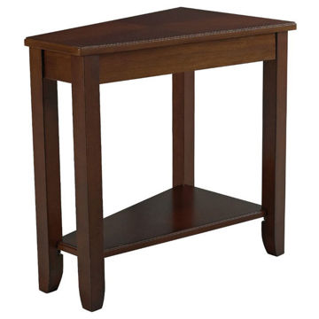Picture of Wedge Cherry Chairside Table