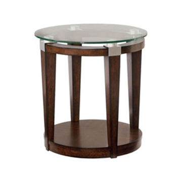 Picture of Solitare Round Accent Table