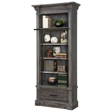 Picture of Gramercy Park Relaxed Vintage Museum Bookcase