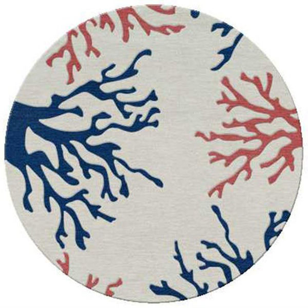 "Picture of Manhattan 6"" Round Area Rug"