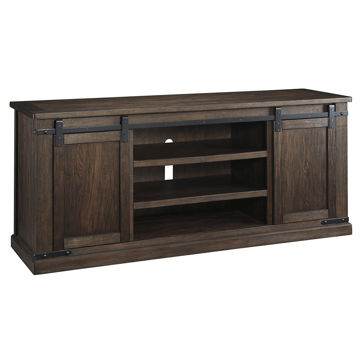 Picture of Waco Barn Door XL Brown Media Console