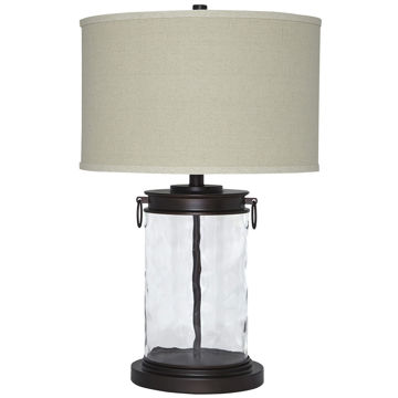 Picture of Tailynn Glass and Metal Table Lamp