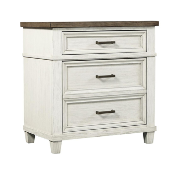 Picture of Caraway Aged Ivory 2 Drawer Nightstand