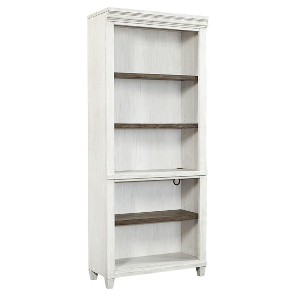 Picture of Caraway Aged Ivory Open Bookcase