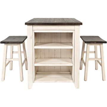 Picture of Madison County 3 Piece Counter Height Table Set