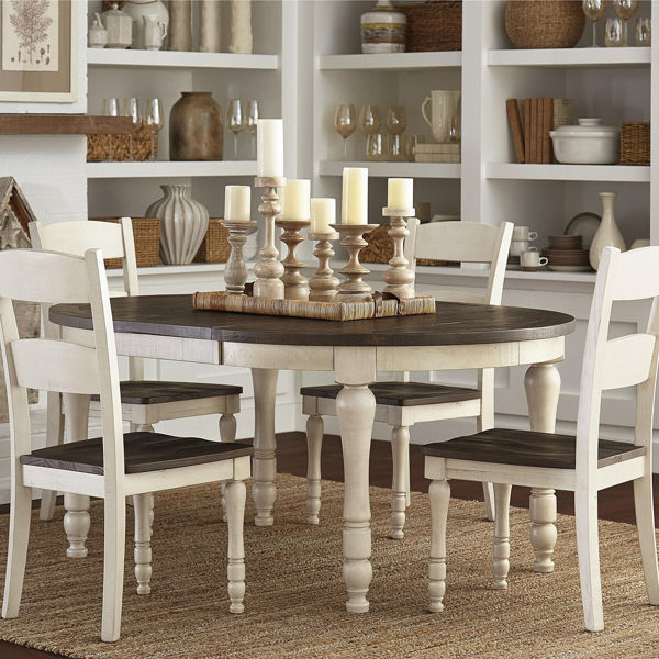 Picture of Madison County 5 Piece Oval Dining Set