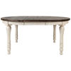 Picture of Madison County Round to Oval Dining Table