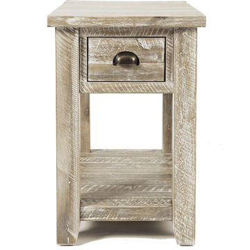 Picture of Artisan Gray Chairside Table