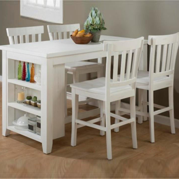 Picture of Madaket White 5 Piece Counter Height Table Set