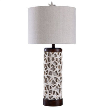 Picture of Sand Shell Starfish Table Lamp
