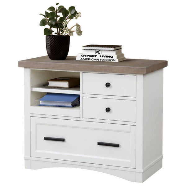 Picture of Americana Modern Cotton File Cabinet