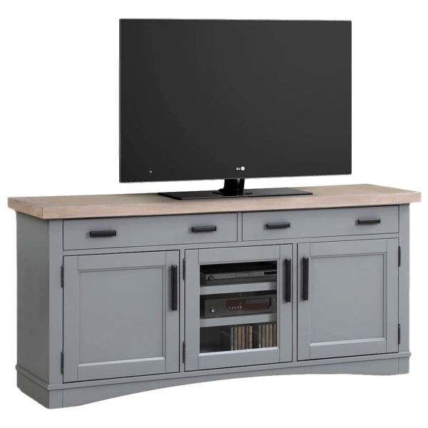 Picture of Americana Modern Dove 63 in. TV Console