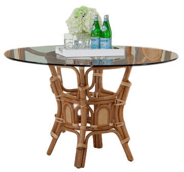 Picture of Bay Walk Glass Top Dining Table