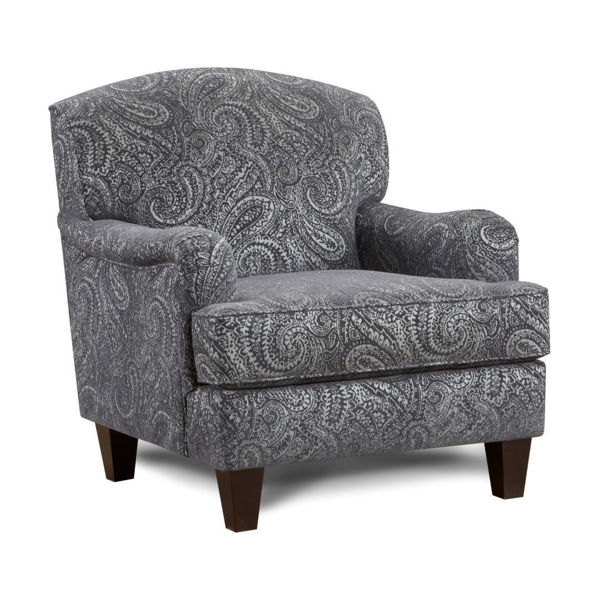 Picture of Cecile Cobalt Accent Chair