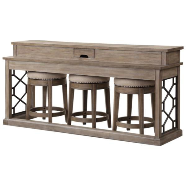 Picture of Sundance Sandstone Console and Stools