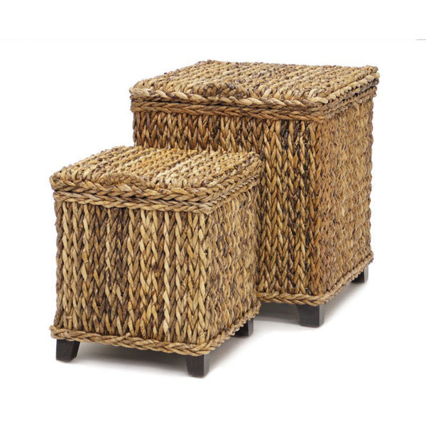 Picture of Moloka Set of 2 Square Trunks