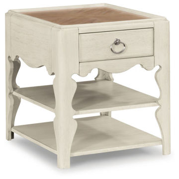 Picture of Miramar Scroll Leg End Table