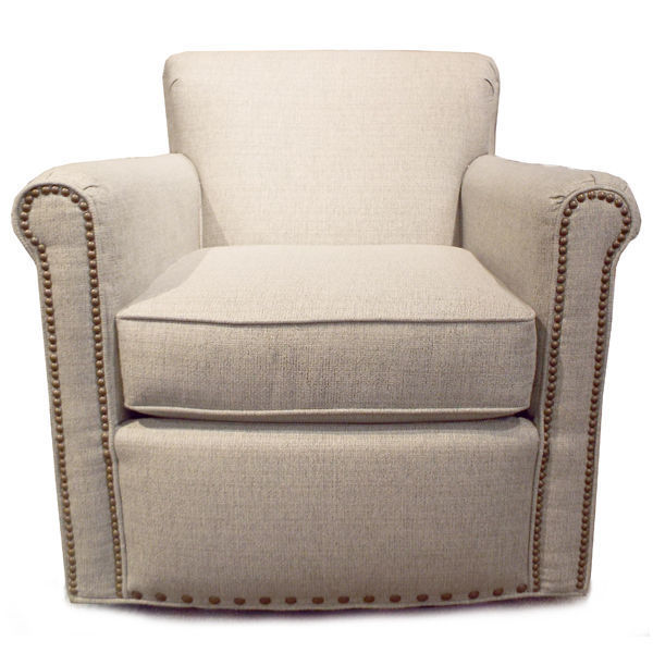 Picture of Jakson Swivel Chair with Nailhead Trim