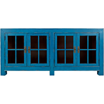 "Picture of Aquitaine Azure 70"" Accent Cabinet"