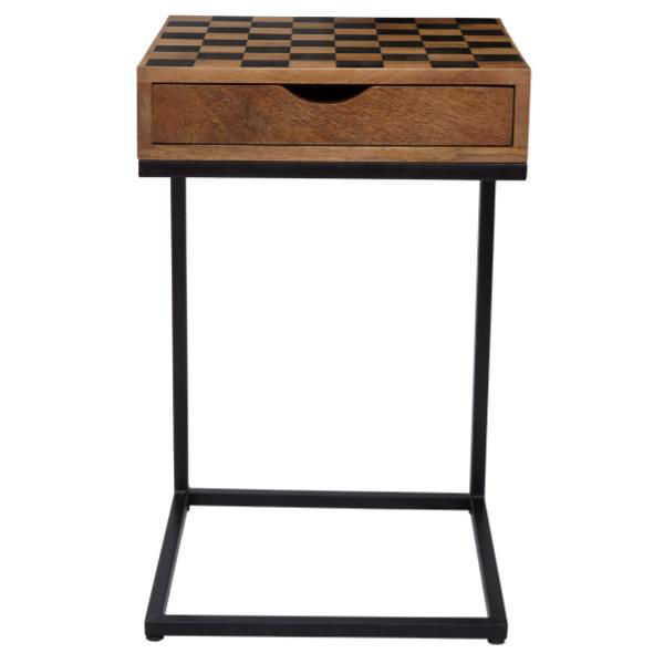 Picture of Global Checkerboard Chairside Table