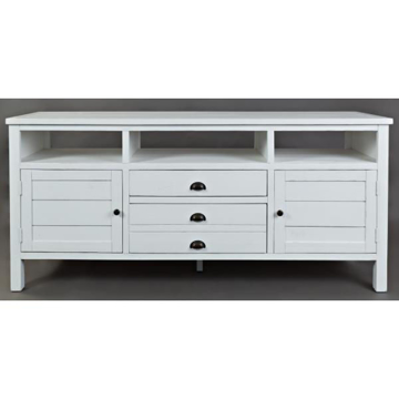 "Picture of Artisan Craft 70"" White Media Console"