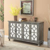 Picture of Catskill Grey Four Door Media Credenza