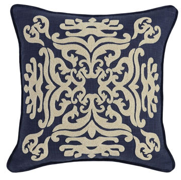 Picture of Fritz Indigo 18x18 Accent Pillow