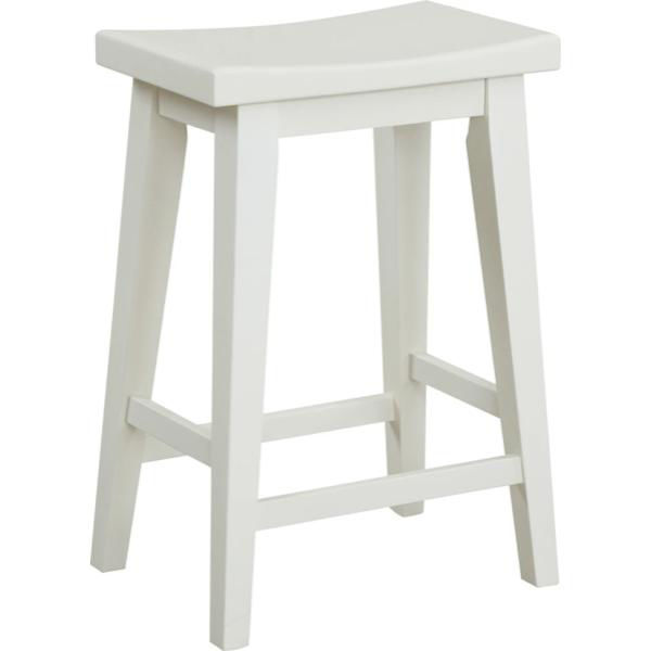 Picture of Americana Cotton White Stool