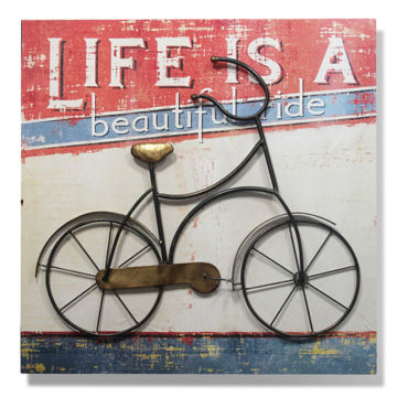 Picture of Metal Bike Wall Art
