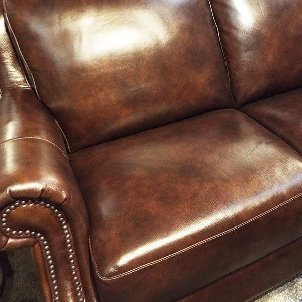 Picture of Pierce Hickory Leather Sofa