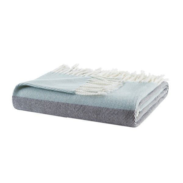 Picture of Lexi Color Block Blue Throw