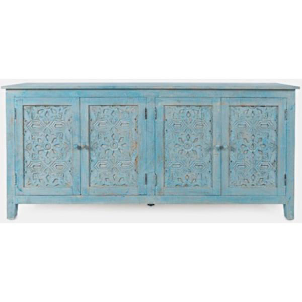 Picture of Global Archive Chloe Blue Cabinet