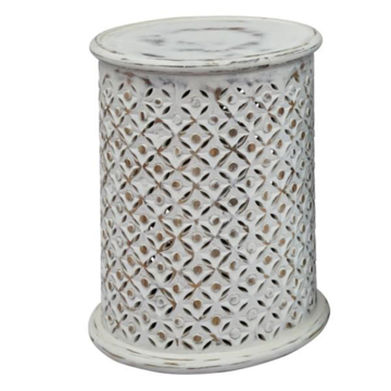 Picture of Global Archive White Side Table
