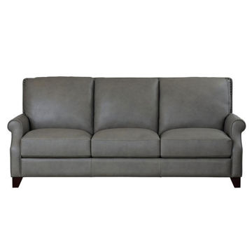 Picture of Greyson Leather Sofa in Putty